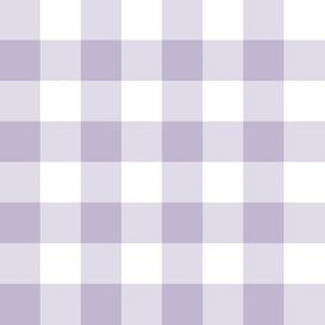 Lavender Gingham: Small Check - .75 Inch Check