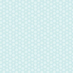 Texture Solid Ice Blue Baby Boy Gray Grey  Green Abstract Spots Polka Dots Math || Winter Quilt Coordinate _  Miss Chiff Designs
