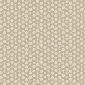 Texture Solid Brown Tan Beige Khaki Neutral Spots Polka Dots Math || Fall Quilt Coordinate Home Decor by Miss Chiff Designs