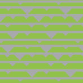 Bumble Bee Stripe in Green