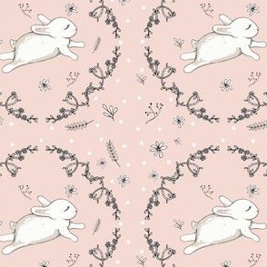 Bunny running blush