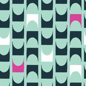 Repeating Modern Shapes
