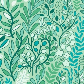 7292814-botanical-leaves-pattern-nature-design-medium-mint-by-kostolom3000