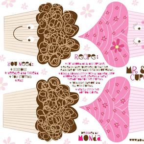 Mr and Mrs Cupcake - Plushie Pattern