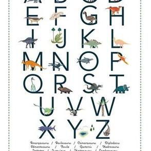 Dino alphabet