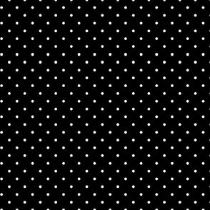 Simply Dots - White on Black