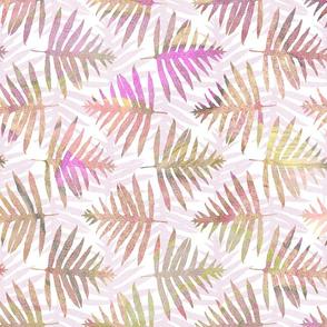 Hawaiian Batik Ferns Pink 150