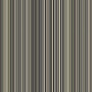 Uneven stripes - black-cream