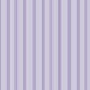 Ticking Stripe: Medium Violet 5