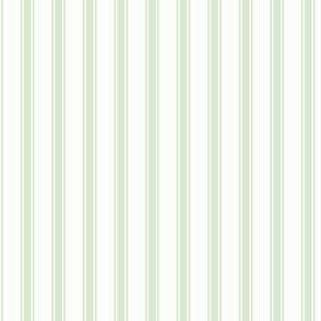 Ticking Stripe: Mossy Green 3