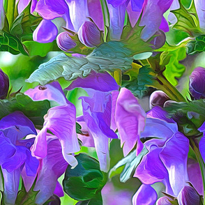 Purple Tiny Orchid Orgillia