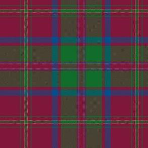 "MacDougall tartan #5, 6"" muted"