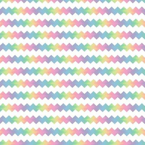 small pastel rainbow ric-rac