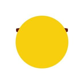 cheeky emoji faces cool shades dude back