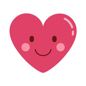 cheeky emoji faces heart love