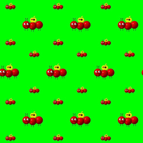 Cute Ant with Apple