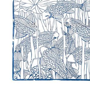 koi pond blue 15