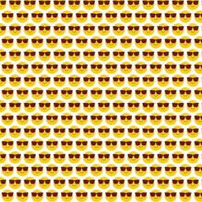 cool shades dude :: cheeky emoji faces