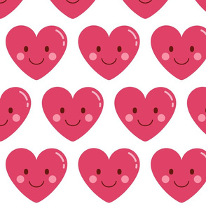 heart love XL :: cheeky emoji faces