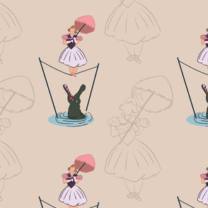 Haunted Mansion Tightrope Girl