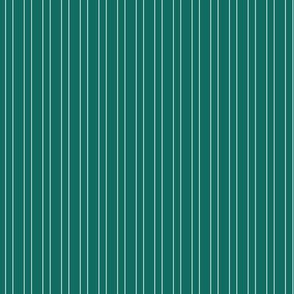 Summer Teal Stripe