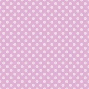 Summer Orchid Polka Dots