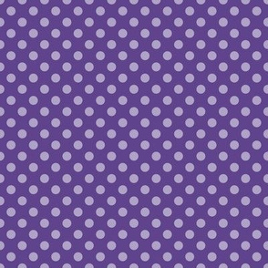 Summer Purple Polka Dots