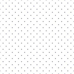 Summer White Polk Dots