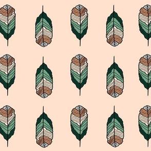 Western Blush Feather