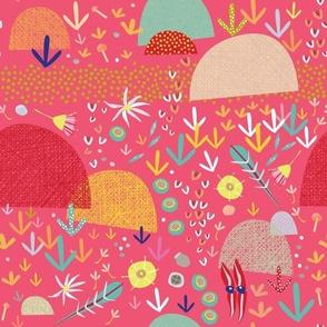 Australian bush pink
