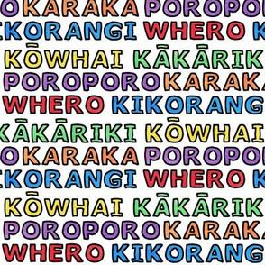 Maori Colours