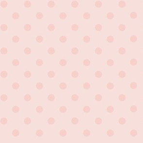 Dotty: Light Rose Gold Polka Dots