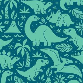Delightful Dinos (Blue)