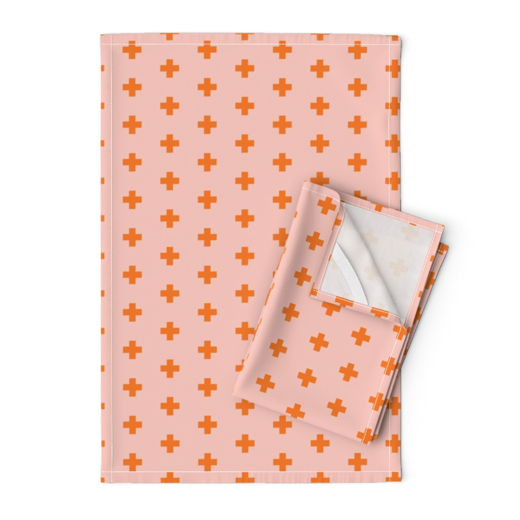 Orpington Tea Towels featuring +-small-O by miamaria