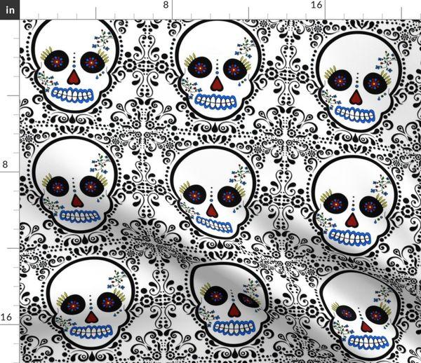 Day Of The Dead - DÃa De Los Muertos - - Spoonflower