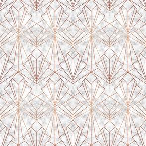 Art Deco Marble & Copper