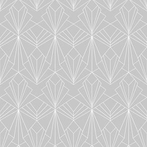 Art Deco on Grey