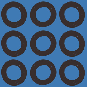 circles blockprint fabric-01