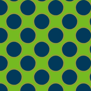 Large Polka Dot fabric template caph-01