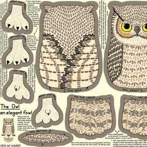 The Owl, an Elegant Fowl