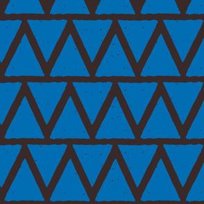 triangle block print fabric-01