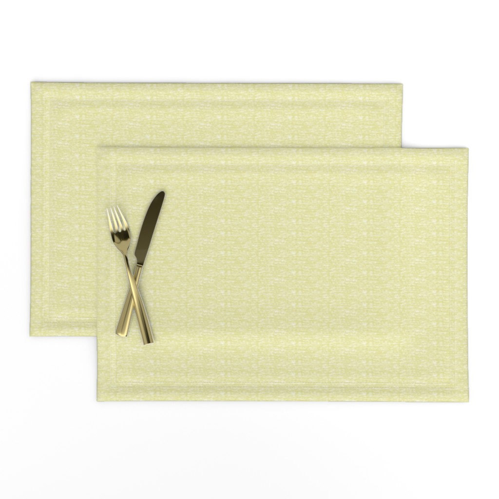Lamona Cloth Placemats featuring Mellow Yellow by gargoylesentry