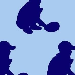 baseballsilhouetteblue