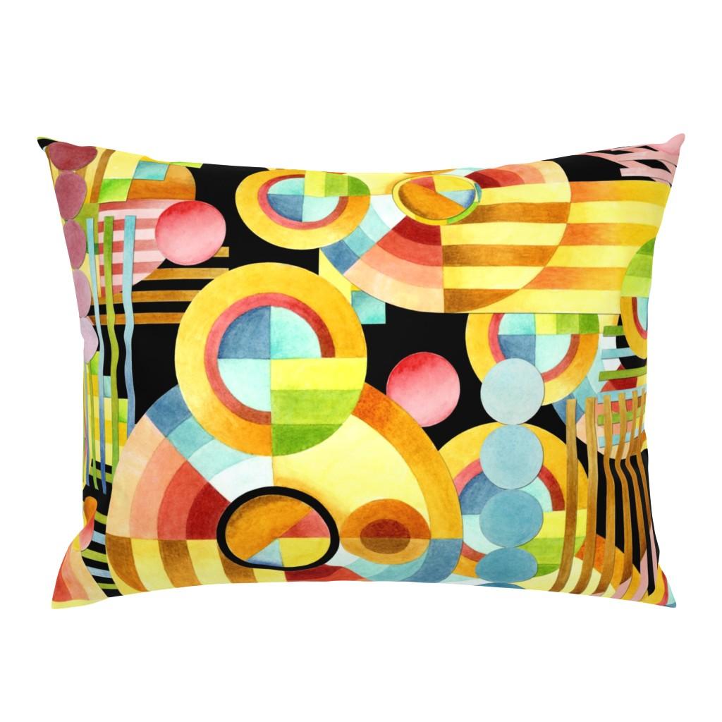 Campine Pillow Sham featuring Art Deco Maximalist by patriciasheadesigns