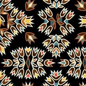 Jazz Blossoms Art Deco