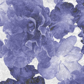 Flower Play Huge Blue