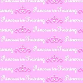 Princess in Training-Pink