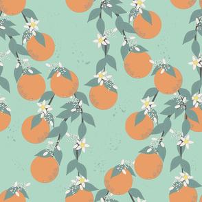 Mint Oranges