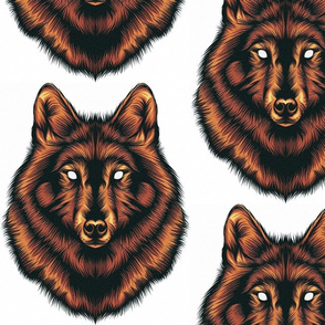Wolf Mosaic