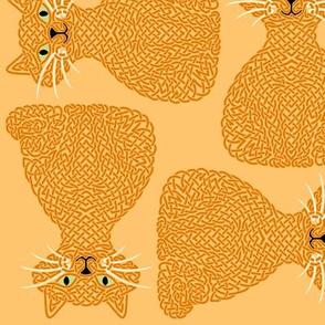 Knotty Cat - ginger, big